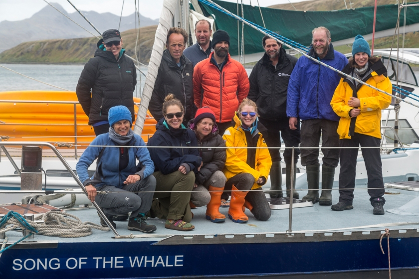 Song of the Whale team: South Georgia